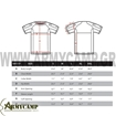 MEASUREMENTS TRIDENT BATTLE TOP 101117 CONDOR UBAC CUT SLEEVES