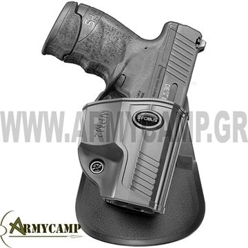 ΠΙΣΤΟΛΟΘΗΚΗ ΠΟΛΥΜΕΡΙΚΗ ΠΛΑΣΤΙΚΗ ΠΑΘΗΤΙΚΗΣ ΑΔΡΑΝΕΙΑΣ ΓΙΑ WPM2 Walther PPS M2 WPM2 Walther PPS M2  FOBUS HOLSTER ISRAEL GREECE