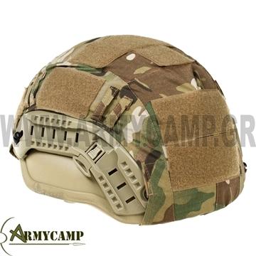 ΚΑΛΥΜΜΑ ΚΡΑΝΟΥΣ HIGH-CUT MULTICAM RIP-STOP KEVLAR ΑΝΤΙΒΑΛΛΙΣΤΙΚΟ high-cut-helmet-cover-with-pocket-multicam-rip-stop-fabric SHS-1357