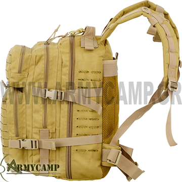 RECON LASER CUT MOLLE PACK 2-DAY ONE DAY ASSAULT PACK 600 DENIER NYLON CORDURA SHADOW STRATEGIC