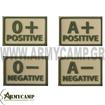 ΟΜΑΔΑ ΑΙΜΑΤΟΣ ΤΡΙΣΔΙΑΣΤΑΤΗ-ΠΟΛΥΜΕΡΙΚΗ PVC ΠΛΑΣΤΙΚΗ 0+ B+ A+ 0- B- A- ABPOS VELCRO ΣΚΡΑΤΣ ΓΙΛΕΚΟ ΜΑΧΗΣ MULTICAM