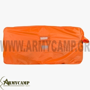 4 OR 5 person emergency survival shelter orange CS065 HIGHLANDER